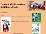 Outubro: Mês Internacional da Biblioteca Escolar