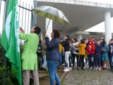 Hastear da bandeira do Eco-Escolas